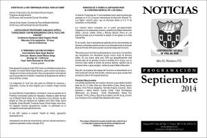 Boletín septiembre portada