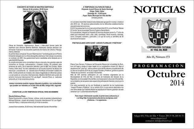 Boletín octubre portada