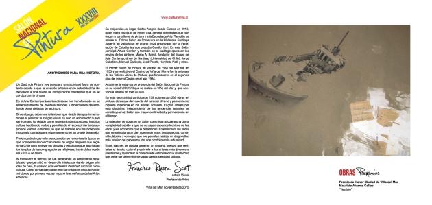 Catalogo Salon Nacional de Pintura 1