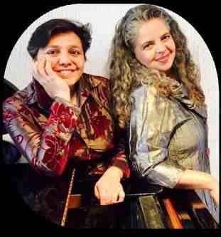 Karina Glasinovic y Paulina Zamora 2