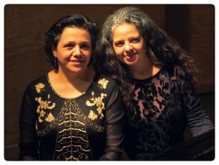 Karina Glasinovic y Paulina Zamora