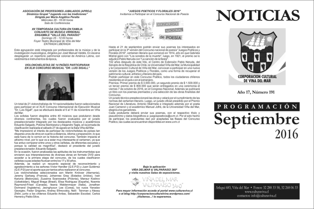Noticias septiembre portada