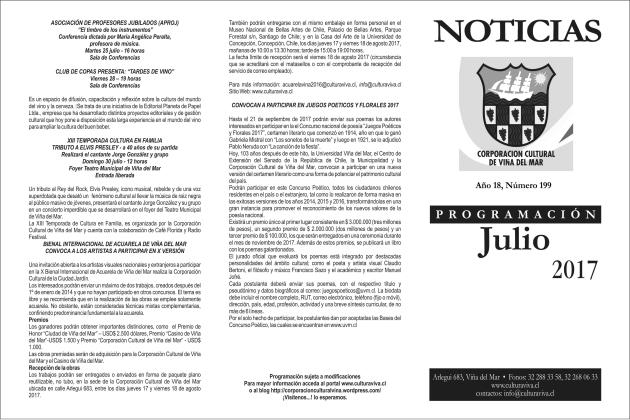 Noticias julio portada
