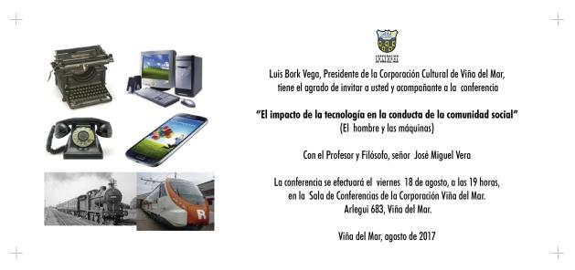 Invitación José Miguel Vera