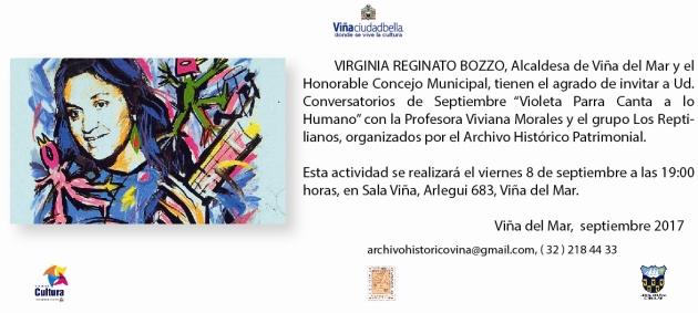 Conversatorio Violeta Parra