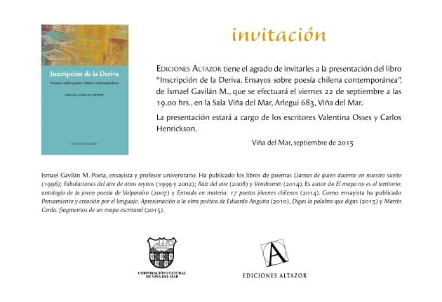 Libro de Ismael Gavilán