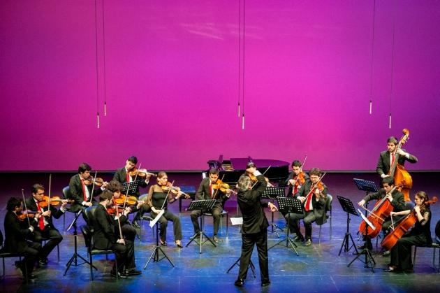 Orquesta de Cámara PUCV en baja