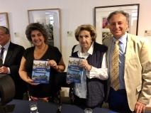 Alcaldesa Virginia Reginato, presentación libro Viña del Mar ayer y hoy, 2