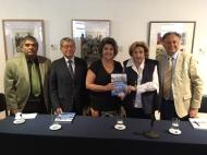Alcaldesa Virginia Reginato, presentación libro Viña del Mar ayer y hoy