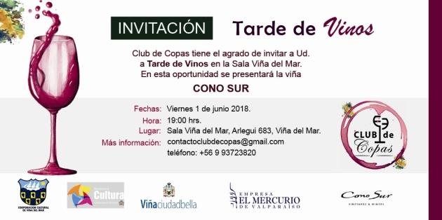 Invitación Cono Sur junio