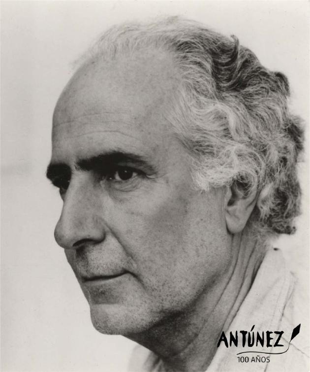 Invitación expo Nemesio Antúnez - rostro