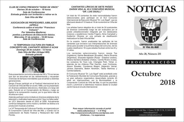 Noticias octubre portada
